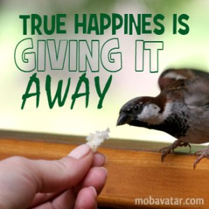 true-happines-is-giving-it-away